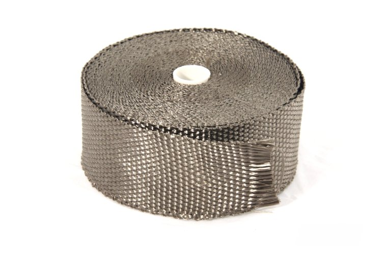 TITAN Exhaust Wrap 1100°C 2in*50ft TDTW0250 Exhaust wrap 2in*50ft Titan, до 1100°С Thermal Division TDTW0250